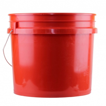 Auto-Glanzwelt Eimer 3,5 Gallone in rot Wascheimer Red bucket