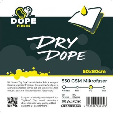 "Dope Fibers  Polish Dope  4er Pack Gelb ""Cut"""