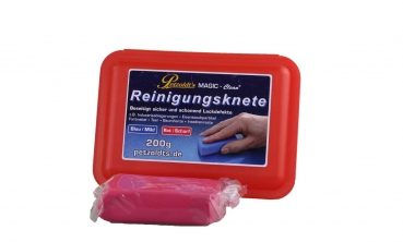 Petzoldt`s Magic Clean Reinigungsknete rot 200gr scharf Clay bar