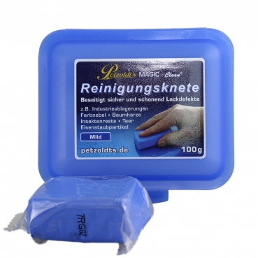 Petzoldt`s Magic Clean Reinigungsknete 100gr blau
