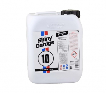 Shiny Garage Blue Snow Foam 5 L blauer Schaum