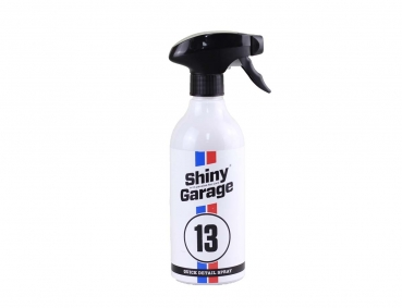 Shiny Garage Quick Detail Spray 500 ml Trockenwäsche Schnellreiniger