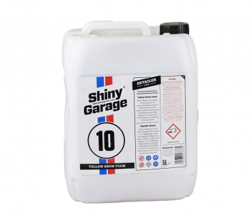 Shiny Garage Yellow Snow Foam 5L gelber Schaum Foam