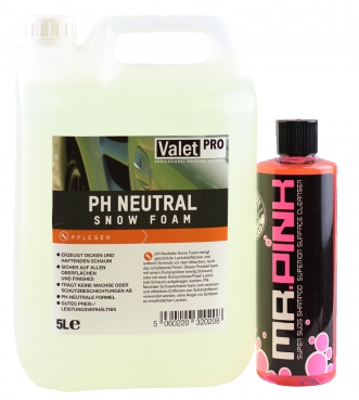 aletpro ph Neutral Snow Foam und CG Mr.Pink Foa