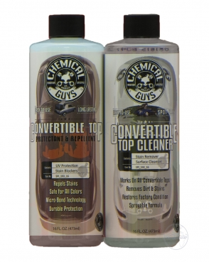 Chemical Guys Convertible Top Cleaner and Protection Kit 2x 473ml Cabrio Verdeck Reiniger