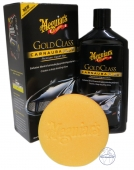 Meguiar`s Gold Class Carnauba plus Premium Liquid Wax inkl.Pad 473ml