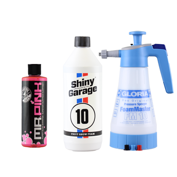 Gloria FM 10 CG Mr Pink 473 ml Shiny Garage Fruit Snow Foam 1,0 L Set