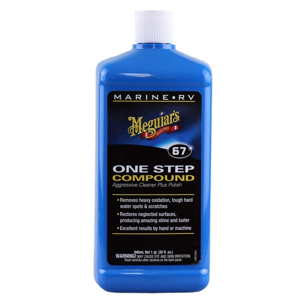 Meguiar`s Marine/RV One-Step Compound 947 ml Politur Schleifpolitur polieren Boot Jetski
