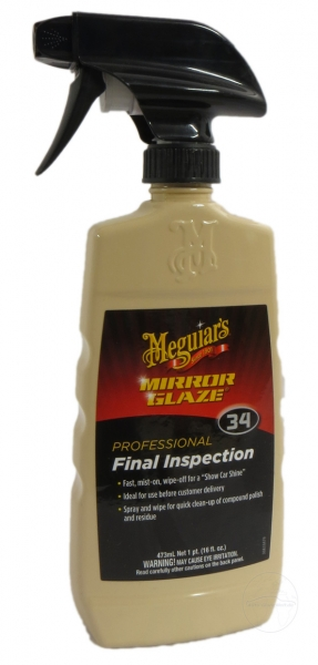 Meguiar's Mirror Glaze Final Inspection