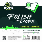 Dope Fibers  Polish Dope  4er Pack Grün