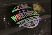 "Kustomwork ""Woerthersee Back to the roots 1982-2018"" Aufkleber oilslick"